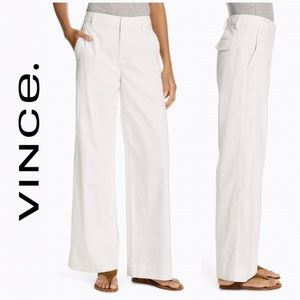 Vince Cotton Flare Pants
